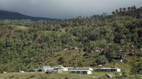 Une vue de l'île de la Pentecôte, au Vanuatu, le 13 septembre 2005 [Marc Le Chelard / AFP/Archives]