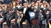 Psy à Séoul, le 25 février 2013 [Kim Hong-Ji / Pool/AFP]