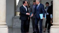 François Hollande et Jean-Marc Ayrault le 6 mai 2013 à l'Elysée [Martin Bureau / AFP]
