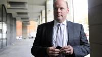 Le patron de la banque britannique RBS Stephen Hester le 23 novembre 2011 à Londres [Facundo Arrizabalaga / AFP/Archives]