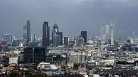 Une vue de la City de Londres le 25 avril 2012 [Miguel Medina / AFP/Archives]