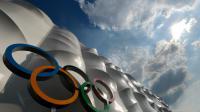 Le stade de basket sur le site olympique de Londres, le 25 juillet 2012 [Mark Ralston / AFP/Archives]