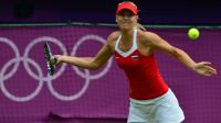 """La Russe championne de tennis Maria Sharapova, médaillée d'argent des jeux Olympiques de Londres, a lancé sa propre marque de bonbons """"Sugarpova"""", selon des informations disponibles sur son site internet vendredi.[AFP]"""