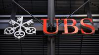 Logo d'UBS [Carl Court / AFP/Archives]