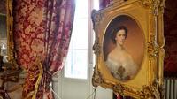 Un portrait dans la salle de réception du Palais royal de Venise, le 3 décembre 2012 [Vincenzo Pinto / AFP]