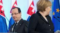 Le président français François Hollande et la chancelière allemande Angela Merkel le 6 mars 2013 à Versailles [Bertrand Langlois / AFP/Archives]