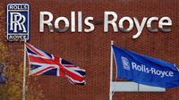 La façade d'une usine Rolls-Royce à Derby, dans le centre de l'Angleterre, en 2008 [Andrew Yates / AFP/Archives]