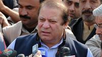 Nawaz Sharif, chef de la principale formation d'opposition, le 9 janvier 2012 à Islamabad [Aamir Qureshi / AFP/Archives]