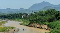 Le Mékong dans la région de Luang Prabang, au Laos, en mai 2012 [Roslan Rahman / AFP/Archives]
