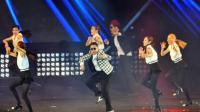 Le Sud-Coréen Psy sur scène à Séoul, le 13 avril 2013 [Kim Jae-Hwan / AFP/Archives]