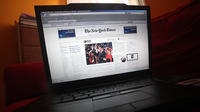 Le site web du New York Times [Mario Tama / Getty Images/AFP/Archives]