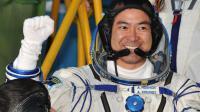 L'astronaute japonais Akihiko Hoshide avant son départ pour l'ISS, le 15 juillet 2012 à Baïkonour [Vyacheslav Oseledko / AFP/Archives]