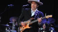 Bob Dylan en concert le 22 juillet 2012 au festival des Vieilles Charrues à Carhaix-Plouguer [Fred Tanneau / AFP/Archives]