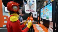 Des visiteurs jouent lors du Tokyo Game Show en 2012 [Yoshikazu Tsuno / AFP/Archives]
