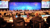 Vue générale des délégués européens et asiatiques à une réunion sur les conséquences de la crise de la dette en Europe, le 15 octobre 2012 à Bangkok [Pornchai Kittiwongsakul / AFP]