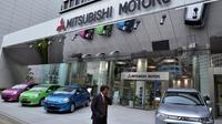 Le siège de Mitsubishi Motors à Tokyo, le 30 octobre 2012 [Yoshikazu Tsuno / AFP/Archives]
