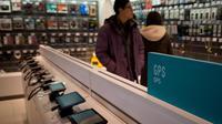 Des GPS en vente dans uen boutique de Pékin, le 28 décembre 2012 [Ed Jones / AFP]