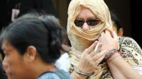 Lindsay June Sandiford le 22 janvier 2013, à Denpasar [Sonny Tumbelaka / AFP]