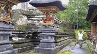 Le temple hindou de Saraseda, à Bali, le 7 mars 2013 [Str / AFP]