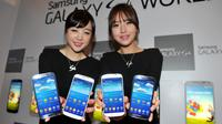 Présentation du nouveau modèle de smartphone Samsung, le 25 avril 2013 [Kim Jae-Hwan / AFP/Archives]