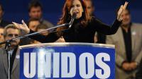Cristina Fernandez de Kirchner le 27 avril 2012 à Buenos Aires [Alejandro Pagni / AFP/Archives]