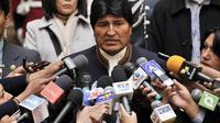 Le président de Bolivie Evo Morales, le 24 avril 2013 à La Paz [Aizar Raldes / AFP/Archives]