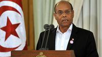 Le président tunisien Moncef Marzouki, le 8 décembre 2012 à Tunis [Fethi Belaid / AFP/Archives]
