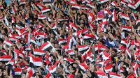 Des drapeaux irakiens [Ahmad al-Rubaye / AFP/Archives]