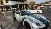 La nouvelle Ferrari de la police dans les rues de Dubaï, le 25 avril 2013
