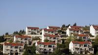 Vue d'habitations illégalement construites dans le  quartier d'Oulpana, dans la colonie de Beit El près de Ramallah, le 22 avril 2012 [Gali Tibbon / AFP/Archives]
