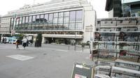 Place de la Bourse où se trouve le siège de l'Agence France Presse [Gabriel Bouys / AFP/Archives]