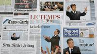 Editions du 7 mais 2007 de quotidiens suisses dont le Basler Zeitung (2e D) [Fabrice Coffrini / AFP/Archives]