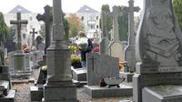 Un cimetière à Rennes [Andre Durand / AFP/Archives]