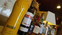 Vue de différents alcools distribués par la société Pernod Ricard [Mychele Daniau / AFP/Archives]