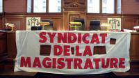 Vue prise d'un bureau au  Palais de Justice à Paris lors du 40e congrès du Syndicat de la magistrature, en novembre 2008 [Jacques Demarthon / AFP/Archives]