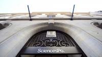L'entrée de Sciences Po, à Paris [Franck Fife / AFP/Archives]