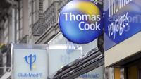 Une enseigne du voyagiste Thomas Cook [Stephane de Sakutin / AFP/Archives]