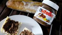 Un pot de Nutella.