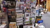 Un kiosque à journaux à Paris [Hocine Zaourar / AFP/Archives]