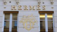 Une boutique Hermès à Paris le 25 octobre 2012 [Miguel Medina / AFP/Archives]