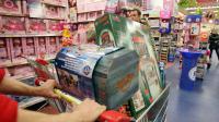 Dans un magasin de jouets [Kenzo Tribouillard / AFP/Archives]