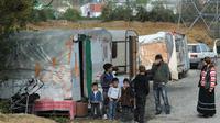 """Pascal Durand, qui a succédé à Cécile Duflot à la tête d'Europe Ecologie-Les Verts, a estimé mardi que le ministère de l'Intérieur ne devait pas gérer """"seul"""" le dossier des Roms.[AFP]"""
