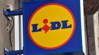 Le logo des magasins Lidl [Philippe Huguen / AFP/Archives]