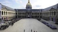 Journée d'hommage aux harkis, le 25 septembre 2011 aux Invalides, à Paris [Lionel Bonaventure / AFP/Archives]