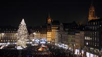 Vue générale du marché de Noël de Strasbourg, le 26 novembre 2011 [Frederick Florin / AFP/Archives]