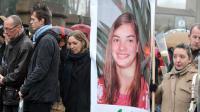 Marche silencieuse en hommage à Laetitia Perrais le 18 janvier 2012 à La Bernerie-en-Retz [Frank Perry / AFP/Archives]