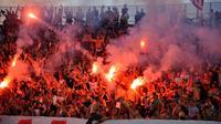 La police serbe va renforcer les mesures de sécurité à Belgrade pour le match jeudi entre l'Etoile Rouge et Bordeaux dans le cadre des barrages pour l'Europa League, avec à l'esprit le meurtre il y a près de trois ans d'un supporteur français venu suivre son club dans la même compétition.[AFP]