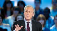 "L'ex-ministre Georges Tron au ""Grand Journal"" de Canal Plus, le 11 mai 2012 [Bertrand Langlois / AFP/Archives]"