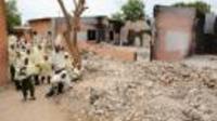 Une école de Maiduguri, brûlée le 12 mai 2012, par les islamistes du groupe Boko Haram [Pius Utomi Ekpei / AFP]
