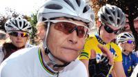 La cycliste Jeannie Longo lors des championnats de France à saint-Armand le 23 juin 2011 [Philippe Huguen / AFP]